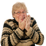 Happy middle aged woman Royalty Free Stock Photography