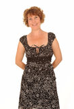 Happy middle aged woman Royalty Free Stock Image