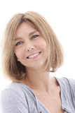 Happy middle-aged woman Stock Photography
