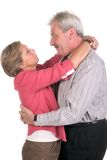 Happy middleaged couple stock images