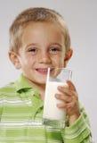 Happy milk. Stock Photos