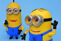 Happy minions Royalty Free Stock Images