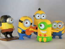 Happy minions Royalty Free Stock Image