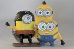Happy minions Stock Photography