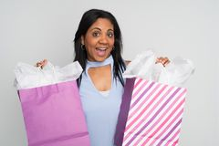 Happy Minority Woman Stock Photo