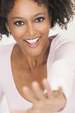 Happy Mixed Race African American Girl Royalty Free Stock Photography