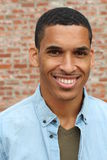 Happy Mixed Race Male Smiling Portrait.  Royalty Free Stock Image