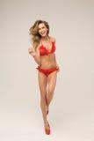 Happy model Stock Images