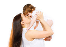 Happy mom and baby having fun together Royalty Free Stock Photo