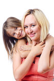 Happy mom and daughter Royalty Free Stock Image
