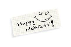 Happy Monday! Royalty Free Stock Image
