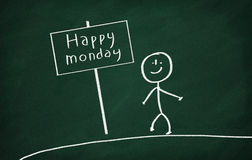 Happy monday Stock Images