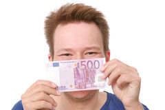 Happy money Royalty Free Stock Photos