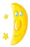 Happy Moon Stock Image
