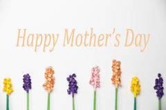 Happy Mother's Day Paper Flower Pattern. Happy Mother's Day with Paper Flower pattern Stock Images