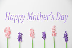 Happy Mother's Day Paper Flowers. Happy Mother's Day with Paper Flower pattern Royalty Free Stock Images