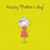 Happy mother�s day Stock Image