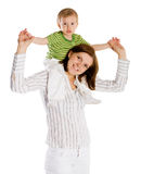 Happy Mother Royalty Free Stock Images