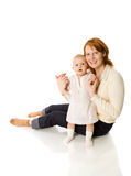 Happy mother Stock Images