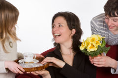 Happy mother Royalty Free Stock Photography