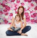 Happy mother with adorable little girl Royalty Free Stock Photo