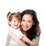 Happy mother baby daughter family Royalty Free Stock Image