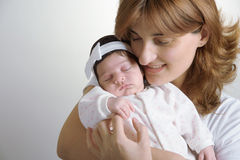 Happy mother and baby Royalty Free Stock Photo