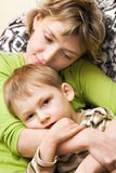 Happy mother and child Royalty Free Stock Images