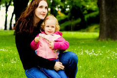 Happy mother and child Stock Images