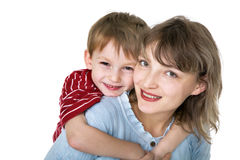 Happy mother with child Royalty Free Stock Photography