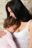 Happy mother with child Royalty Free Stock Images