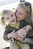Happy mother and child girl Royalty Free Stock Photo