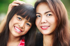 Happy mother and child girl Royalty Free Stock Photography