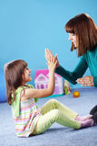 Happy mother with daughter Stock Photography