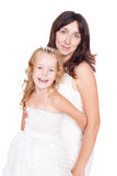 Happy mother and daughter Royalty Free Stock Photo