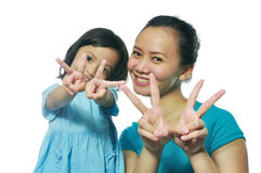 Happy Mother Daughter Stock Images