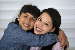Happy mother and daughter. Royalty Free Stock Photography