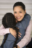 Happy mother and daughter. Stock Photo