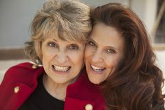 Happy mother and daughter portrait Royalty Free Stock Image