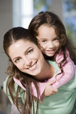 Happy mother and daughter portrait Stock Photography