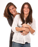 Happy mother daughter relationship Stock Photo