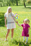 Happy mother and daugther Stock Photo