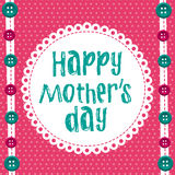 Happy mother day Royalty Free Stock Photos