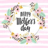 Happy mother day background royalty free stock image