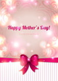 Happy mother day background, vector illustration. Stock Photo