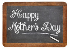 Happy mother day on blackboard Royalty Free Stock Photos