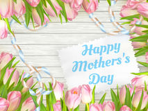 Happy mother day. EPS 10 Stock Image