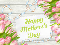 Happy mother day. EPS 10 Royalty Free Stock Image