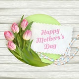 Happy mother day. EPS 10 Royalty Free Stock Photos