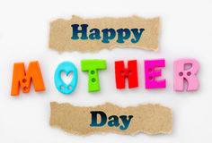 Happy mother day. Royalty Free Stock Photography